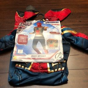 Spider-Man padded costume.  Size s.  New.